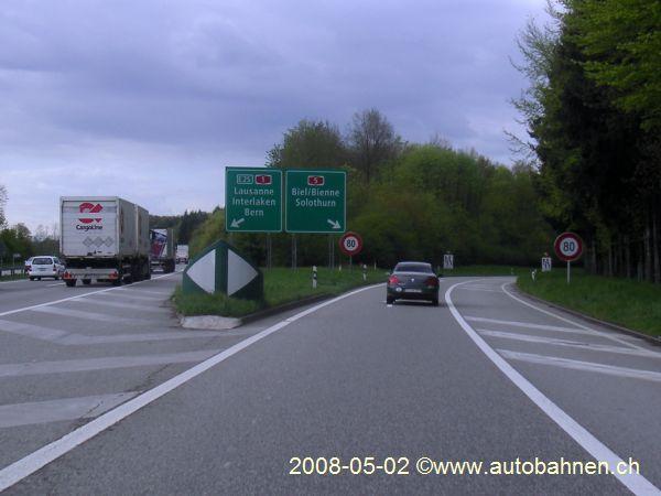 Bildergebnis für autobahnausfahrt solothurn